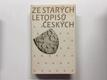 Ze starých letopisů českých