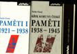 Paměti 3 svazky, 1921-1938, 1938-1945, 1945-1972