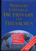 Webster's Universal Dictionary and Thesaurus : plus World Maps in color